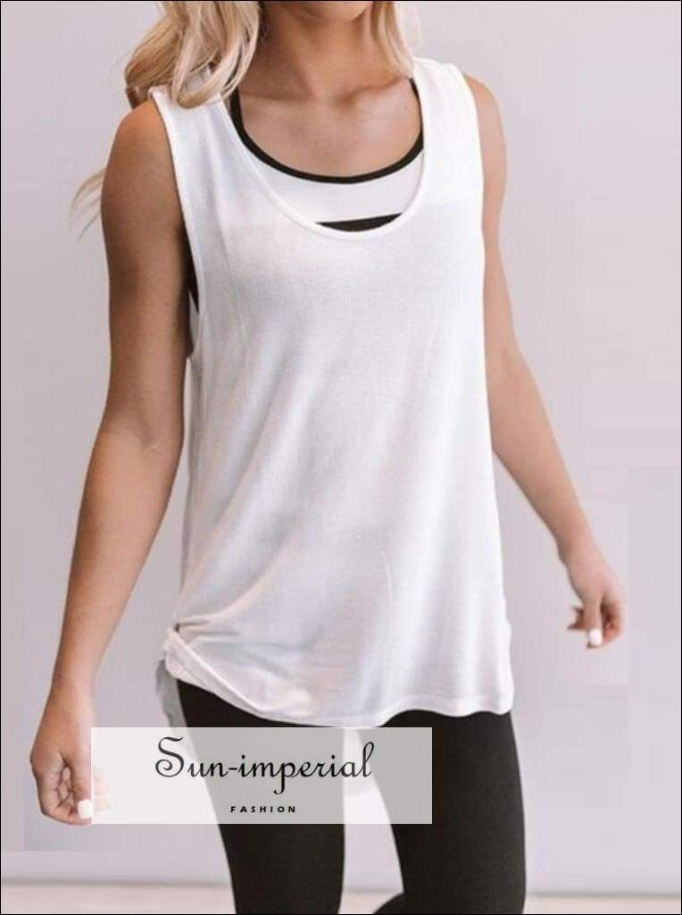 Yoga Tops Women Quick Dry Loose Running Tshirt Backless Gym Fitness Sports Breathable T-shirt Ladies SUN-IMPERIAL United States