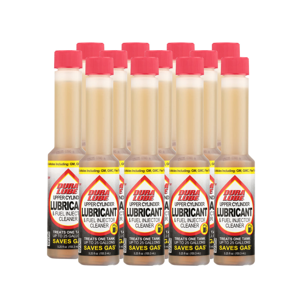 12 Pack - Upper Cylinder Lubricant & Fuel Injector Cleaner - 5.25 oz - DuraLube