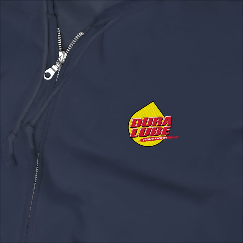 Dura Lube Embroidered Zip Up Hoodie - DuraLube