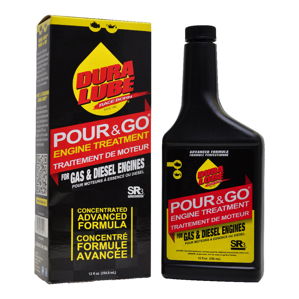 Dura Lube Pour & Go Engine Treatment - 12 oz. - DuraLube