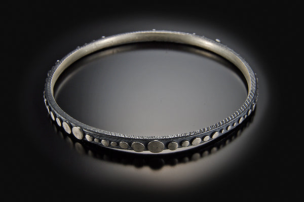 Thin Disco Bangle Bracelet