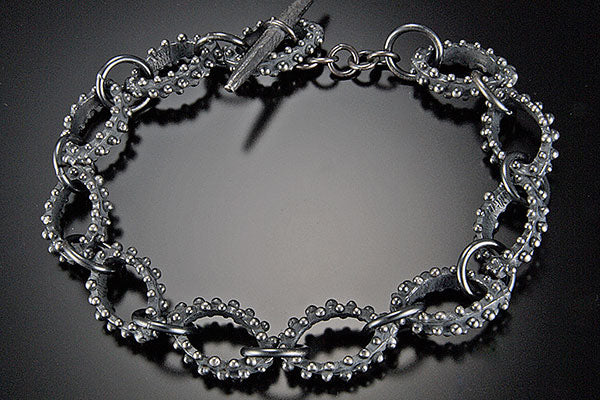 Bumpy Linked Bracelet