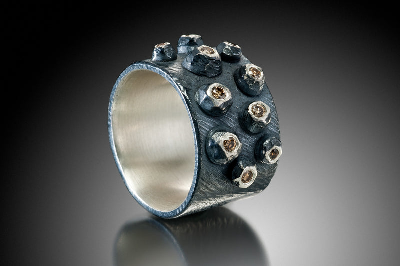 Wide Flat Barnacle Top Ring