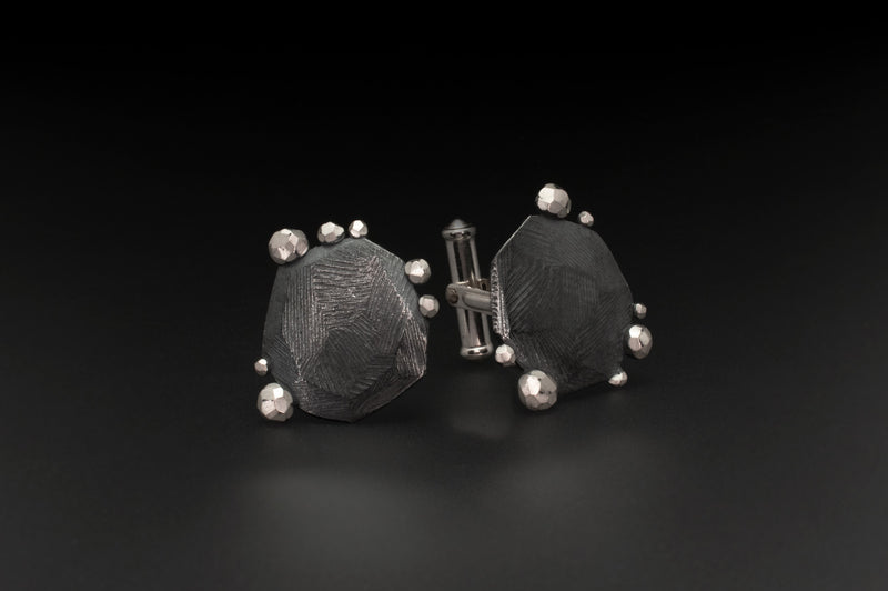 Facet Rock Edge Cufflinks