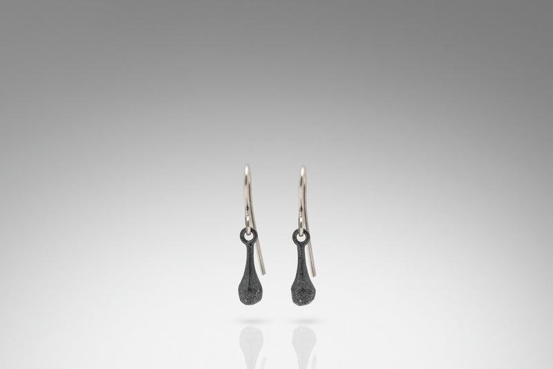 Rock Weight Drop Earring