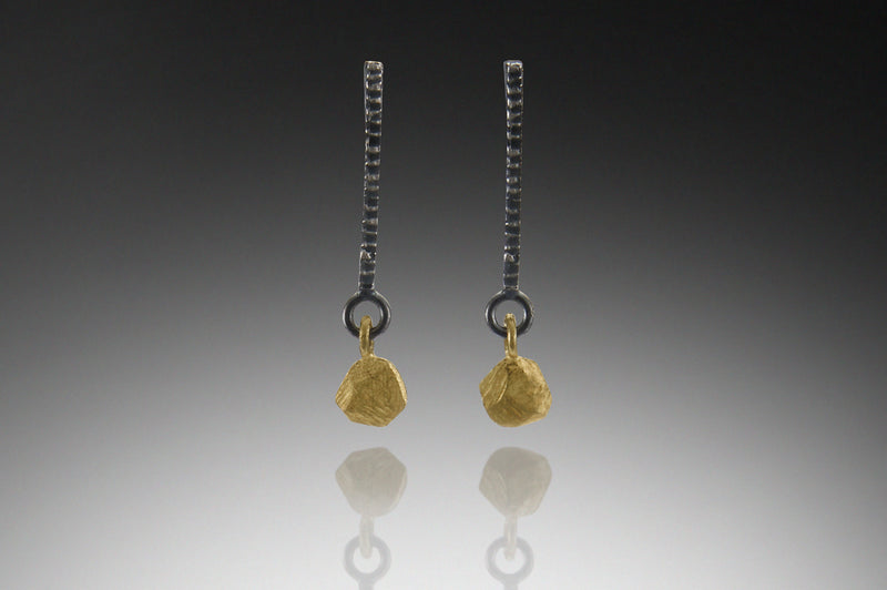 Dig Element with Facet Dangle Earring