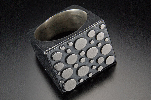 Tapered Square Disco Top Ring