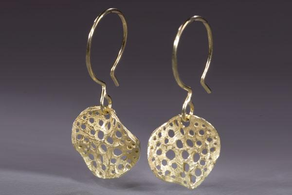 Small Round Siv Earring
