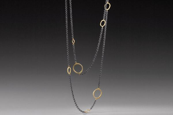 Dig Ring Elements Necklace