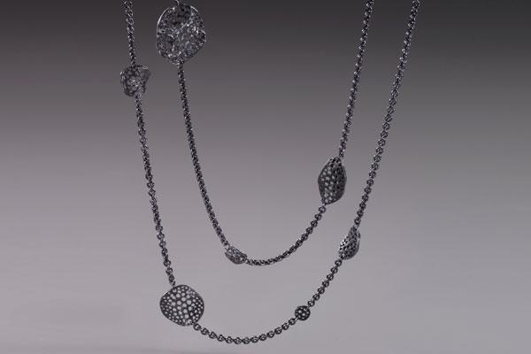 "36"" Siv Element Stations Necklace"