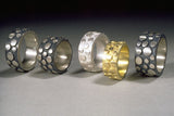 12mm Wide Flat Disco Ring