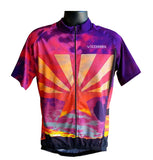 Arizona Flag Short Sleeve Cycling Jersey  by VALDORA