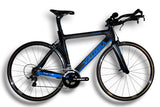 Large PHX2 Aero Bike (Laguna Blue)  Ultegra Di2 mix