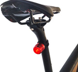 USB Rechargeable RED LED Tail Light