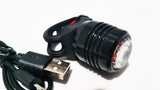 USB Rechargeable LED Head Light and Tail Light Set