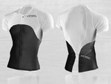 Short Sleeve Triathlon Top  by VALDORA