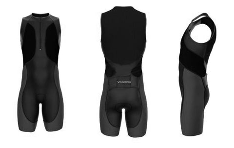Sleeveless Triathlon Suit  by VALDORA