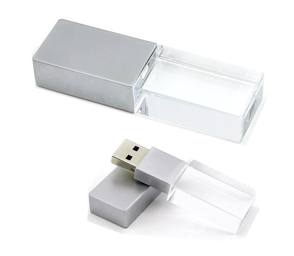 Crystal Shape USB Flash Drive