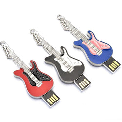 Metal Electric Guitar USB Flash Drive