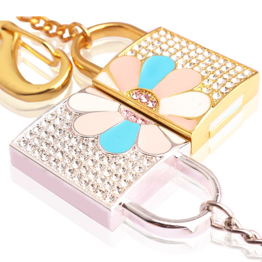 Crystal Lock USB Flash Drive