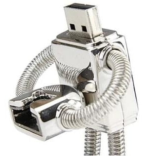 Metal Robot USB Flash Drive