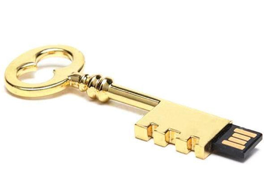 Gold Key USB Drive