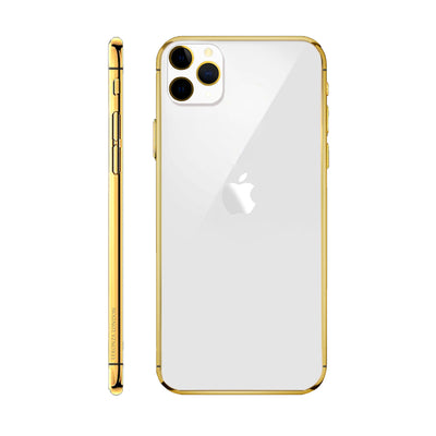 24k Gold Classic iPhone 11 Pro and iPhone 11 Pro Max