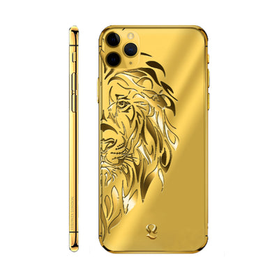 24k Gold Lion Limited Edition iPhone 11 Pro and iPhone 11 Pro Max