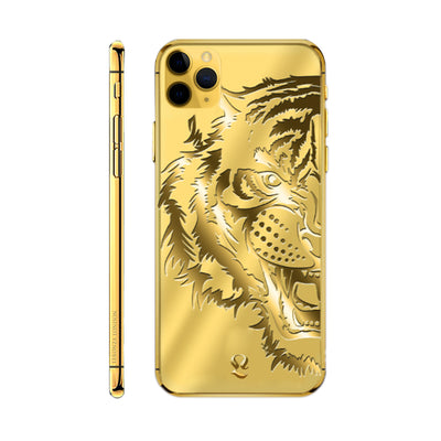 24k Gold Tiger Limited Edition iPhone 11 Pro and iPhone 11 Pro Max