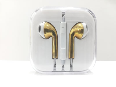 Leronza Luxury 24K Gold Earphones