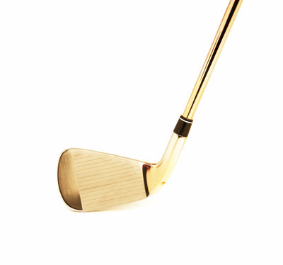 Leronza Luxury 24K Gold TaylorMade Four Iron Golf Club