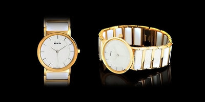 24k Gold Pearl Watch