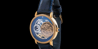 Leronza Gold Sovereign Coin Watch