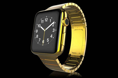 Leronza Luxury Gold Apple Watch 4 Elite