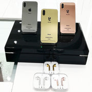 Platinum iPhone Xs & Xs Max - Leronza