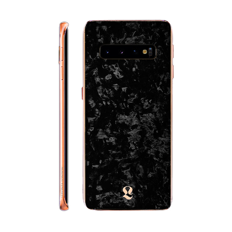 Rose Gold Forged Carbon Samsung S10 & S10 Plus