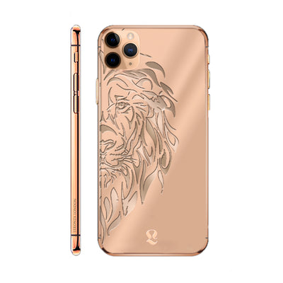 Rose Gold Lion Limited Edition iPhone 11 Pro and iPhone 11 Pro Max