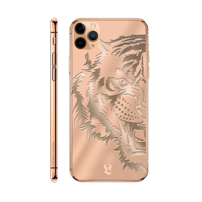 Rose Gold Tiger Limited Edition iPhone 11 Pro and iPhone 11 Pro Max
