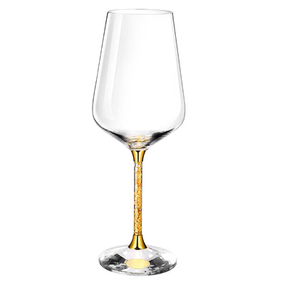 Lerona 24K Gold Crystal Wine Glass