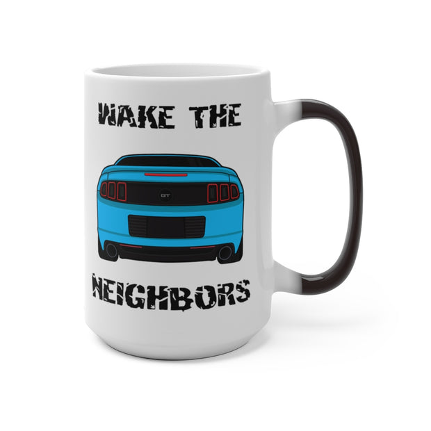 Grabber Blue Wake The Neighbors Mug (Color Changing) - 5ohNation