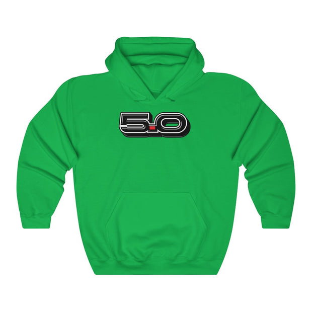5.0 PULL OVER HOODIE (new) - 5ohNation