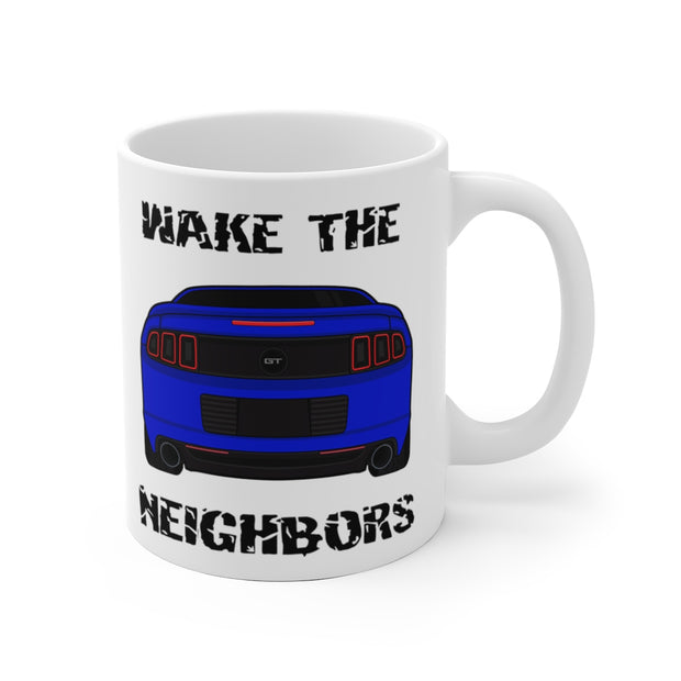 Wake The Neighbors Deep Impact Blue Mug (Original) - 5ohNation
