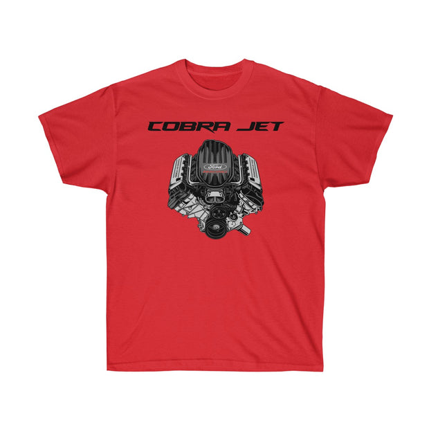 Cobra Jet Engine Tee (Front Design) - 5ohNation