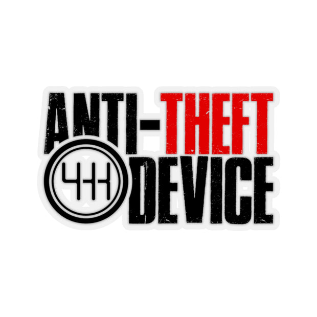 Anti-Theft Device Decal (Black/Red) - 5ohNation