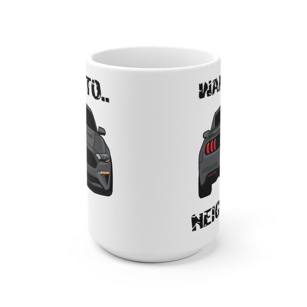 2018-19 Magnetic Metallic Wake The Neighbors Mug (Original) - 5ohNation