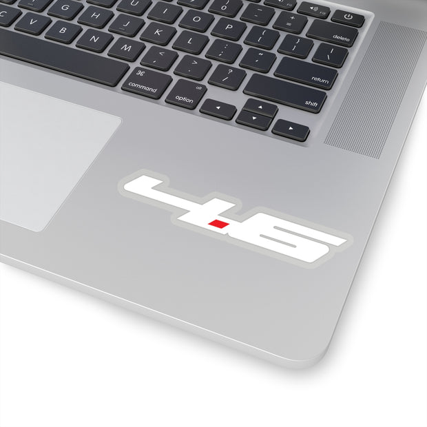 4.6 Sticker (White) - 5ohNation