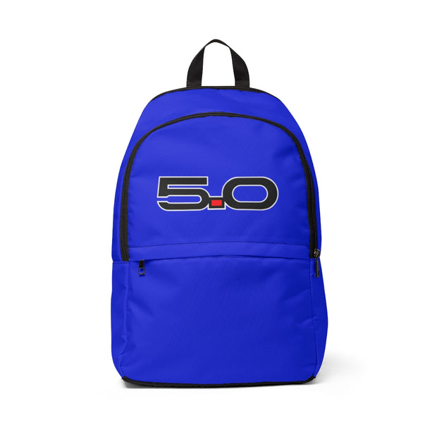 Deep Impact/Lightning Blue 5.0 Backpack - 5ohNation