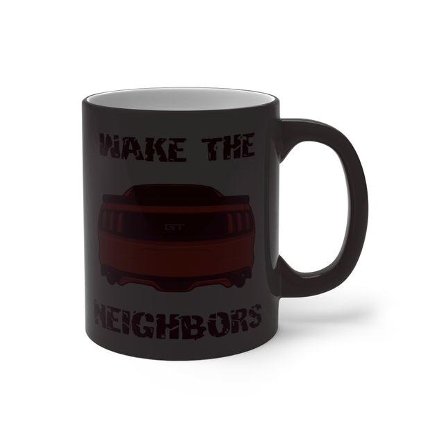 2015-17 Competition Orange Wake The Neighbors Mug (Color Changing) - 5ohNation
