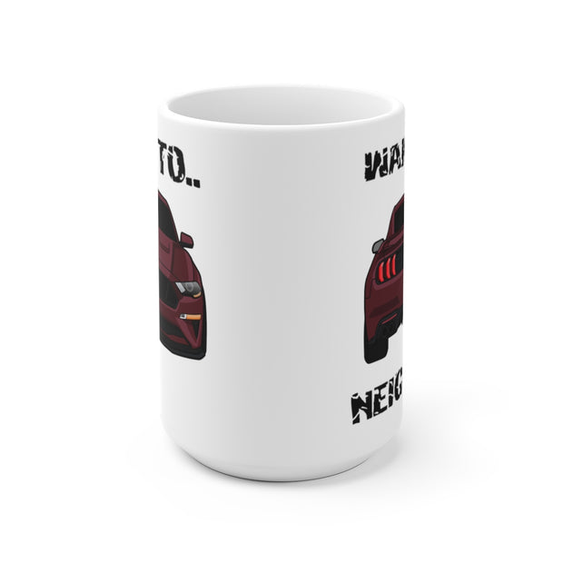 2018-19 Royal Crimson Wake The Neighbors Mug (Original) - 5ohNation