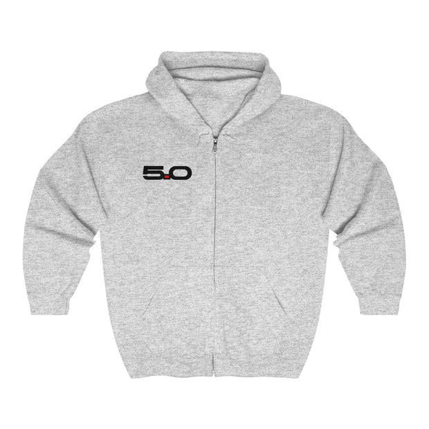 5.0 Coyote Zip-Up Hoodie - 5ohNation